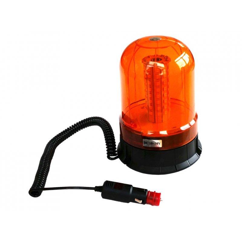 led rundumleuchte orange 10 bis 30 volt mit magnetfu und. Black Bedroom Furniture Sets. Home Design Ideas