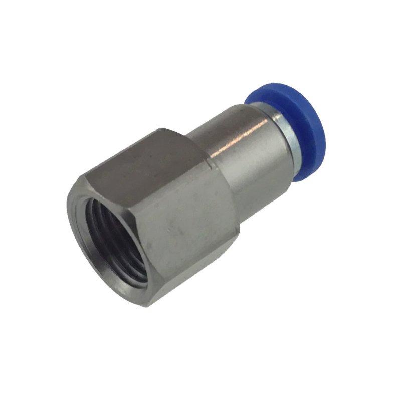 IQS Standard Absperrhähne mit Außengewinde und Steckanschluss Steckverschraubung